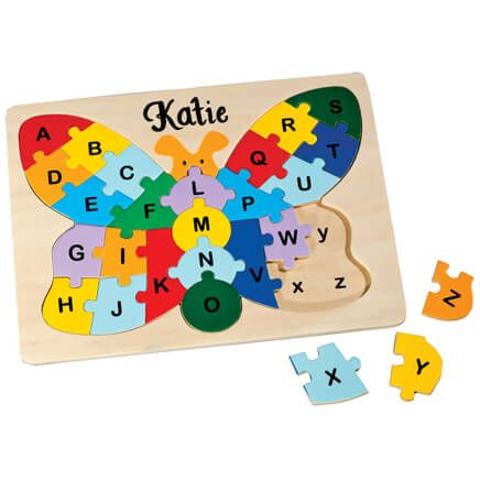 Personalized Butterfly Alphabet Puzzle-349642