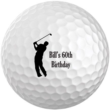 Personalized Men's Golf Balls Set of 6-349698