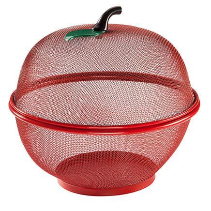 Apple Shape Mesh Basket-350435