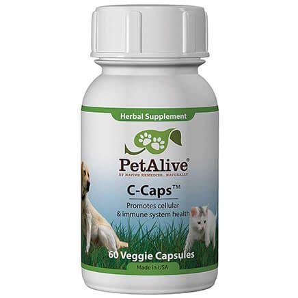 PetAlive® C-Caps™ - 60 Veggie Capsules-351588