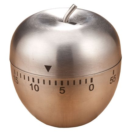 Stainless Steel Apple Timer-351810