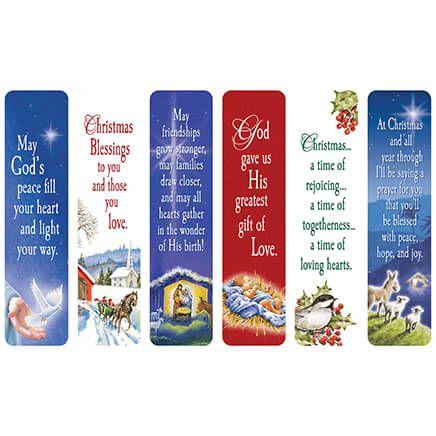 Religious Christmas Bookmarks, Set of 12-351853