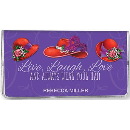 "Personalized Red Hat ""Live, Laugh, Love"" 2-Year Planner-352340"