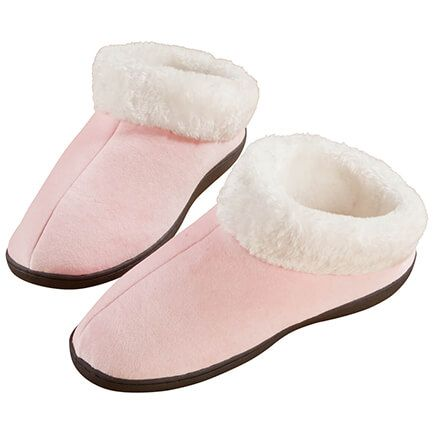 Easy Comforts Style™ Memory Foam Booties-352995