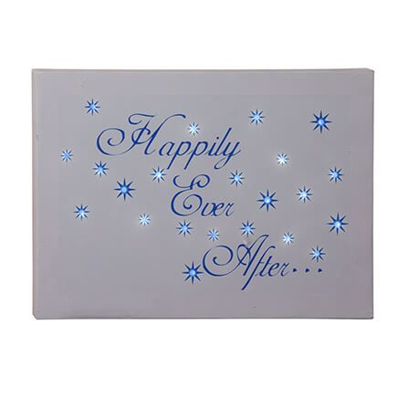 Happily Ever After Lighted Canvas-354095