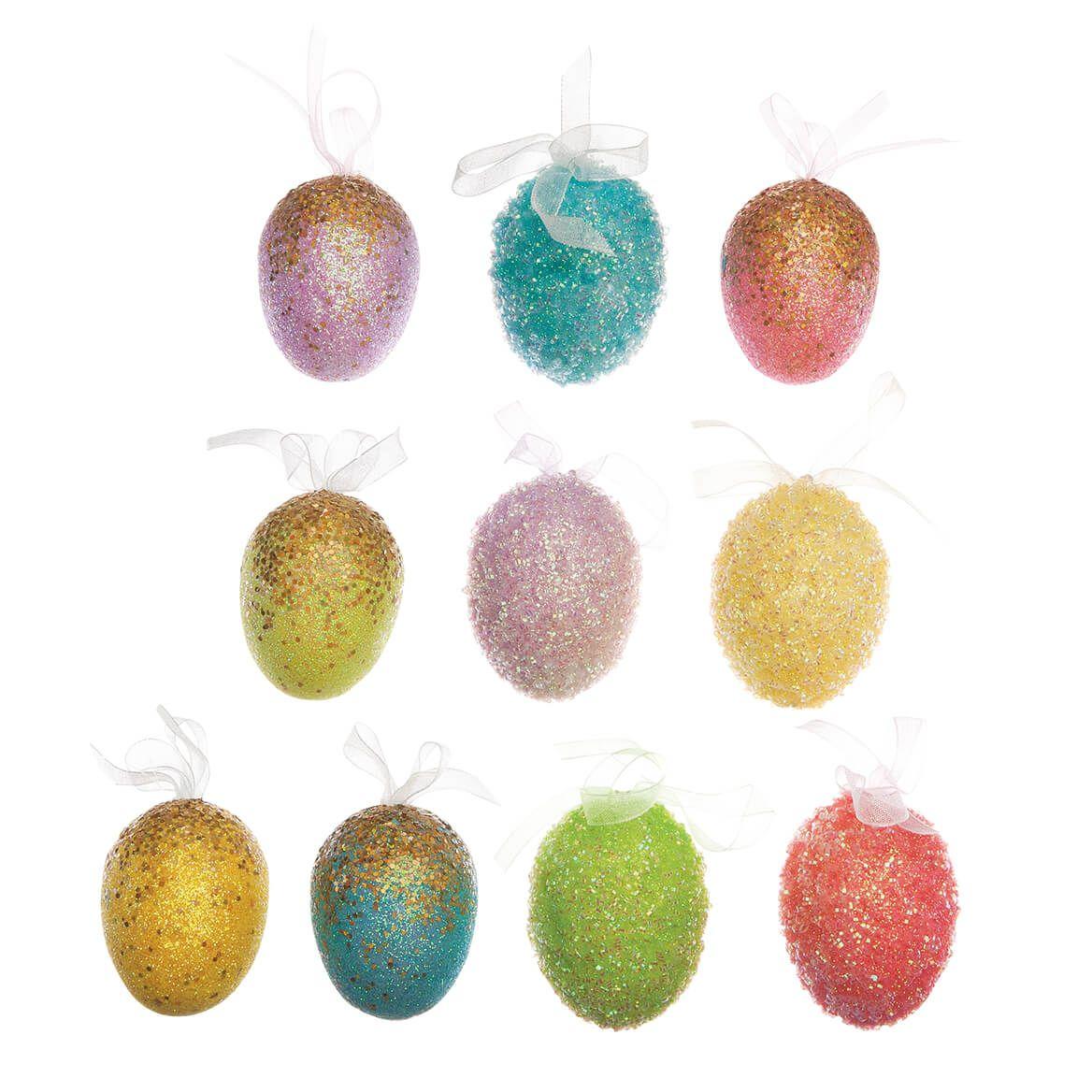 Easter Egg Ornaments, Set of 10-354105