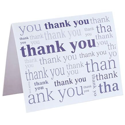 Many Thanks Note Cards, Set of 25-354258