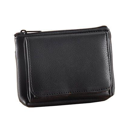 RFID Pebble Wallet, Black-354491