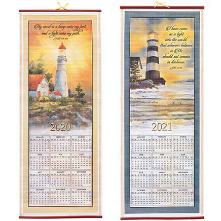 Inspirational Lighthouse Scroll Calendar-355493