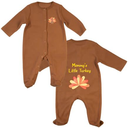 Personalized Baby Turkey Sleeper-355608