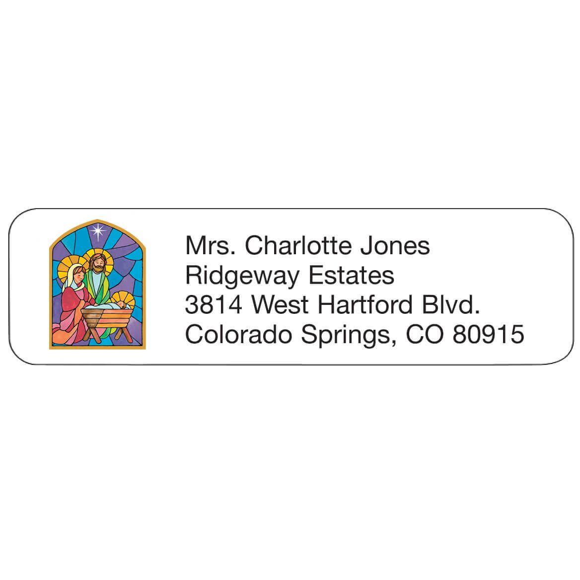 Personal Design Labels Nativity-355702