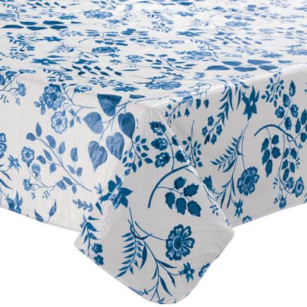 Flowing Flowers Vinyl Tablecovers By Home-Style Kitchen™-355907