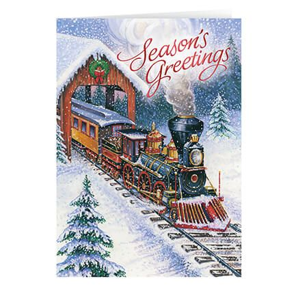 Personalized Christmas Express Card Set of 20-356009