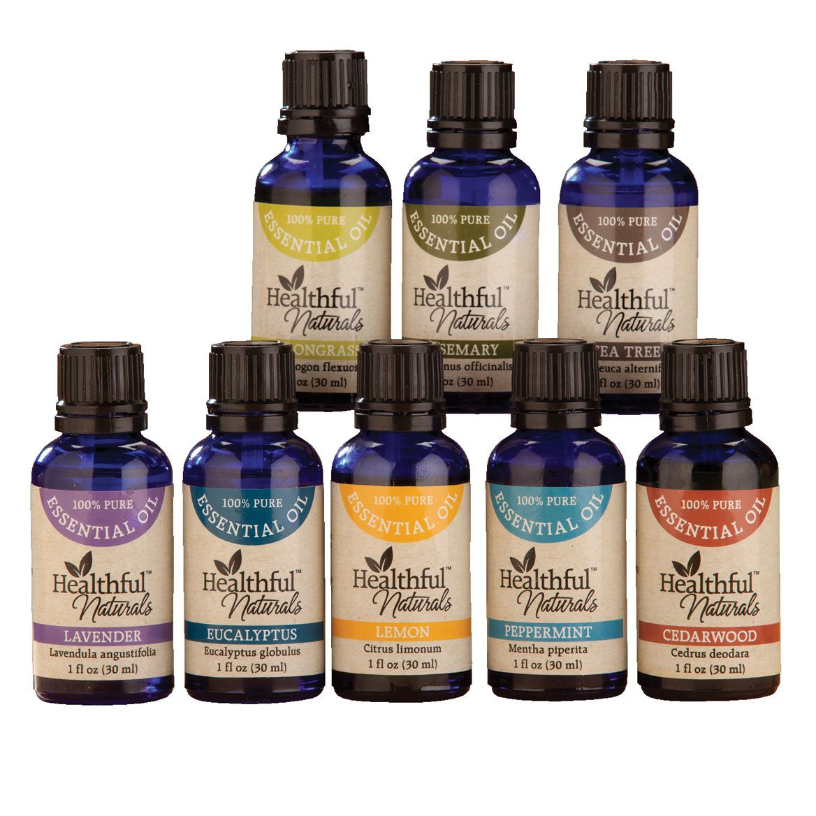Healthful™ Naturals Deluxe Essential Oil Kit-356536