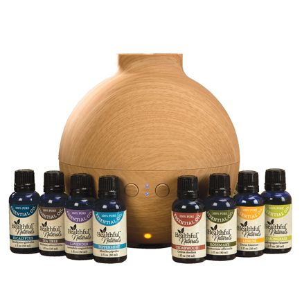 Healthful™ Naturals Deluxe Kit and 600 ml Diffuser-356538