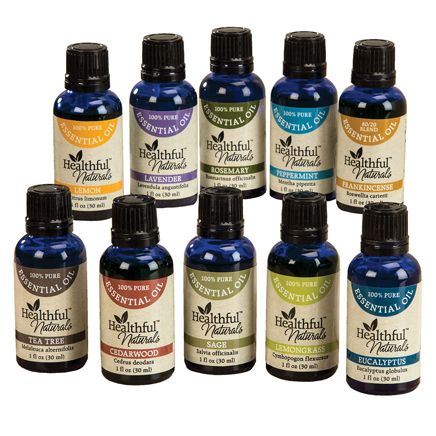 Healthful™ Naturals Premium Essential Oil Kit-356539