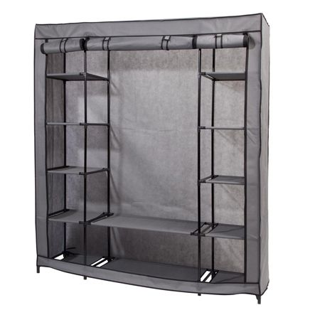 Clothing Wardrobe with Shelves           XL-356629