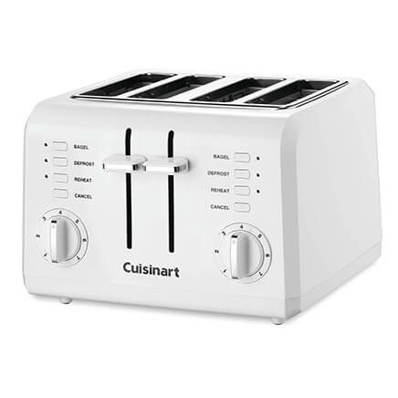 Cuisinart® 4-Slice Compact Plastic White Toaster-357386