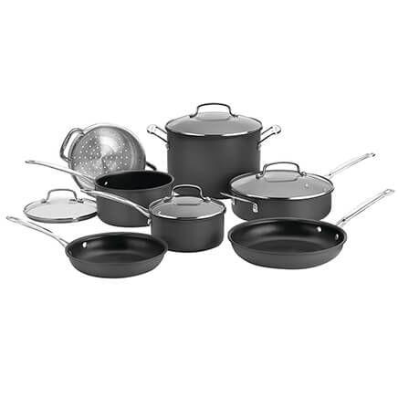 Cuisinart® Chef's Classic™ Non-Stick Hard Anodized 11-Piece Set-357402