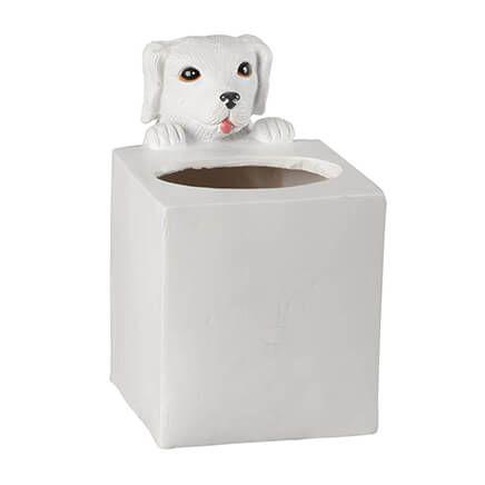 Playful Dog Tissue Box Holder by OakRidge™-358237
