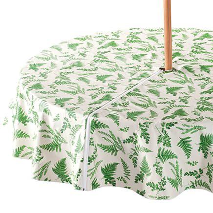 Garden Greenery Zippered Umbrella Table Cover-358464