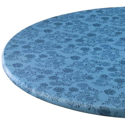 The Kathleen Vinyl Elasticized Table Cover By Home-Style Kitchen™-358486