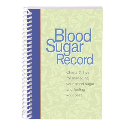 Blood Sugar Tracking Book-358588