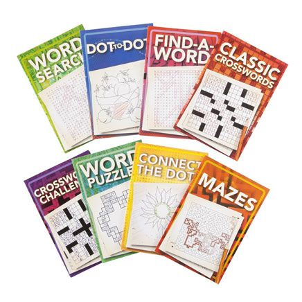 Puzzle Book Set of 8-358612
