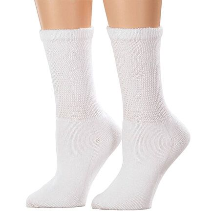 Silver Steps™ 3 Pack Cool + Dry Diabetic Socks-358707