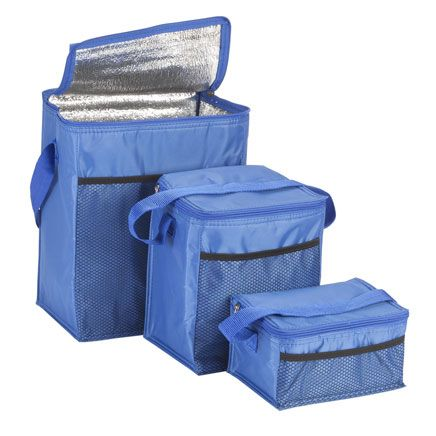 Insulated Cooler Bags, Set of 3-358836