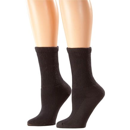 Silver Steps™ 3 Pack Seamless Diabetic Socks-358903
