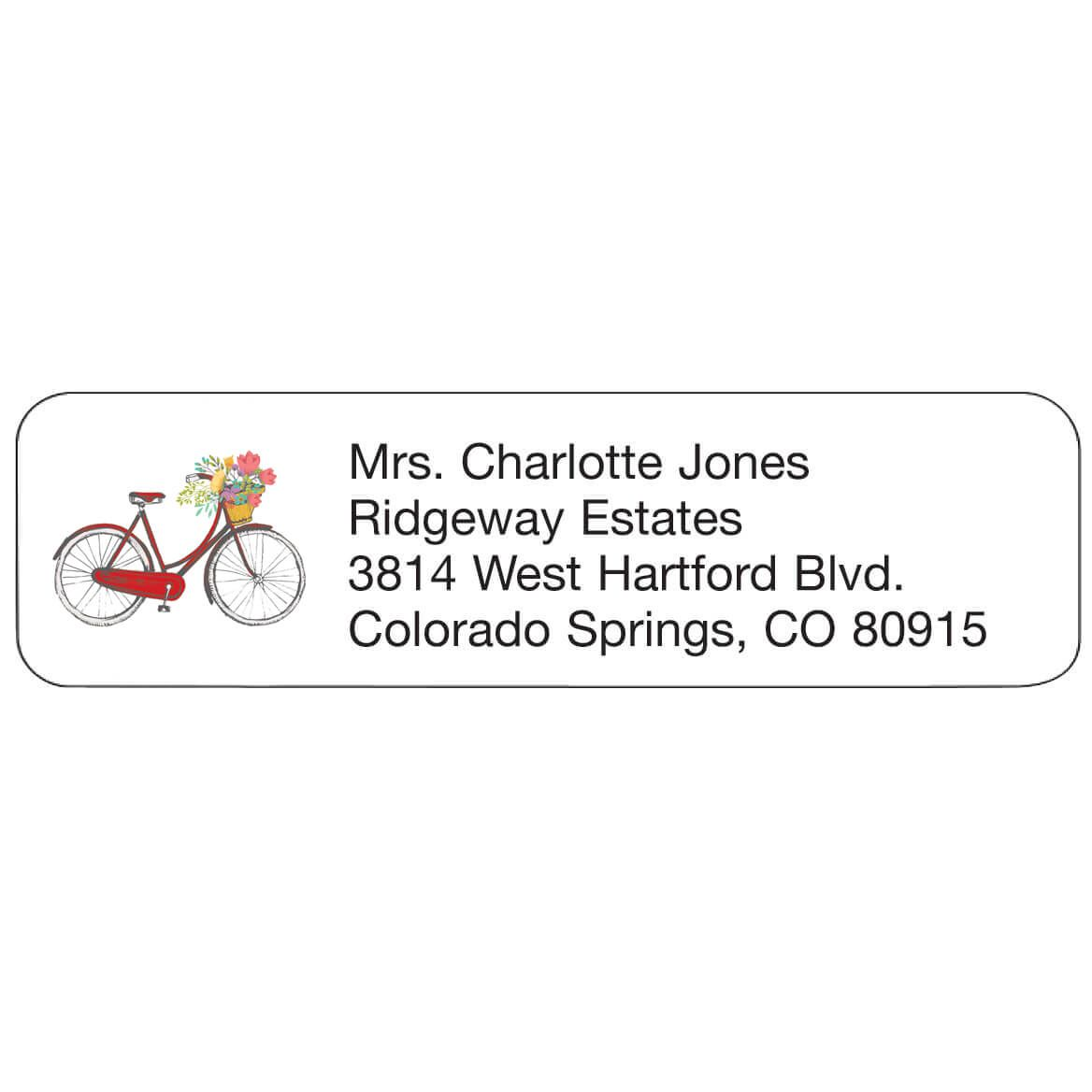 Personal Design Labels Bicycle-358926