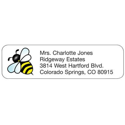 Personal Design Labels Bumblebee-358933