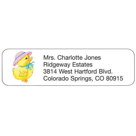Personal Design Labels Duckling-358935