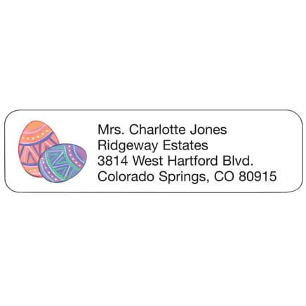 Personal Design Labels Easter Eggs-358938