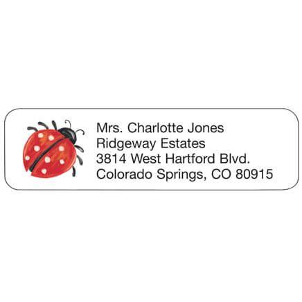 Personal Design Labels Ladybug-358939