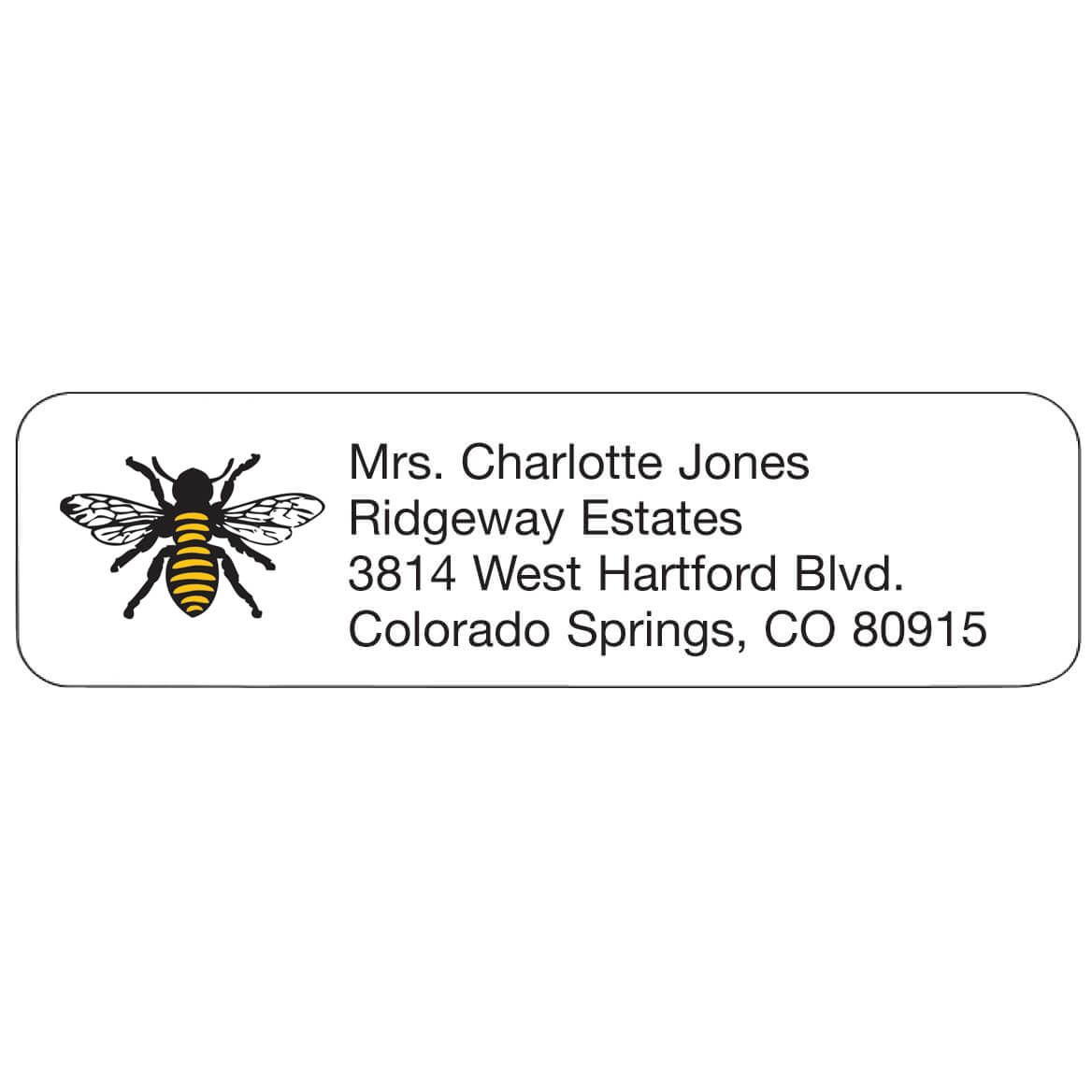 Bee Personal Design Labels-358969