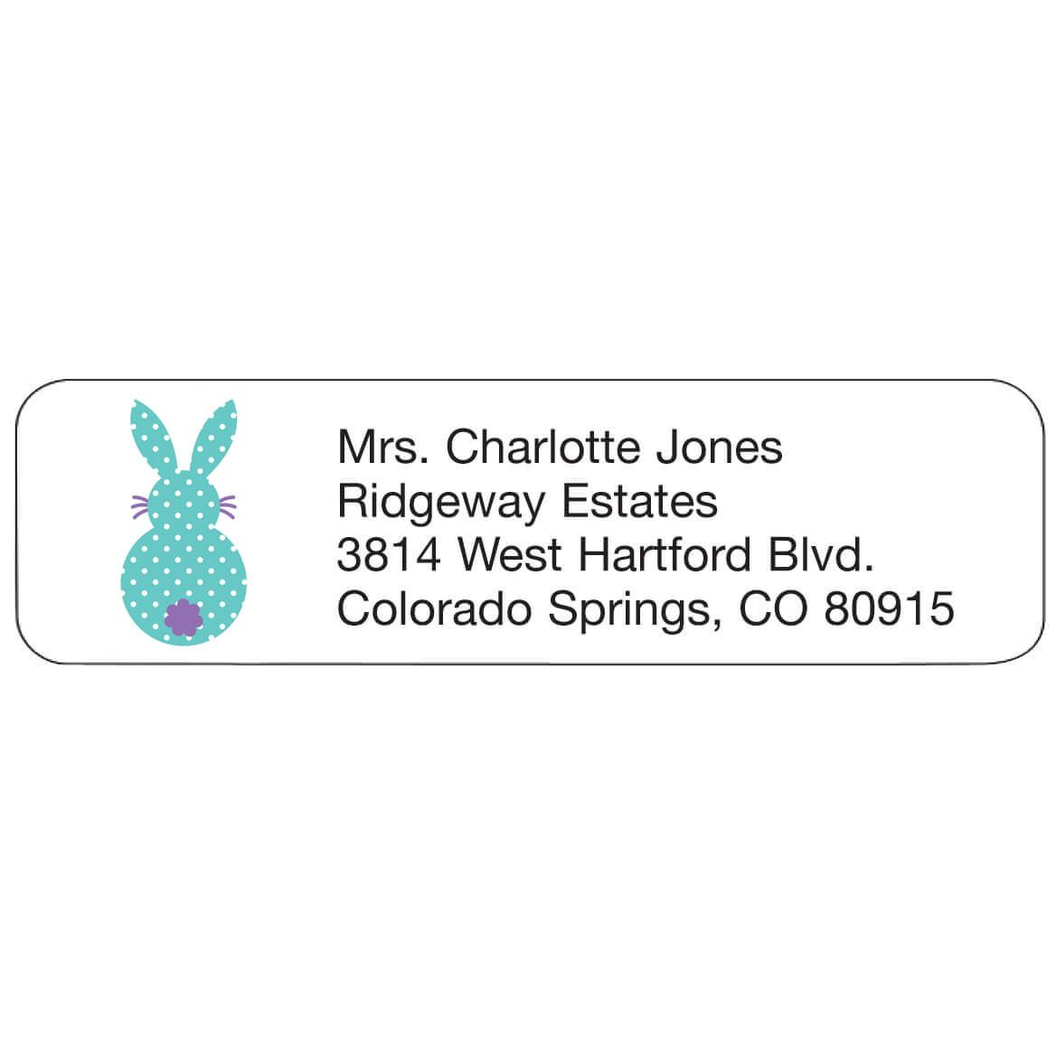 Personal Design Label Bunny Tail-358971