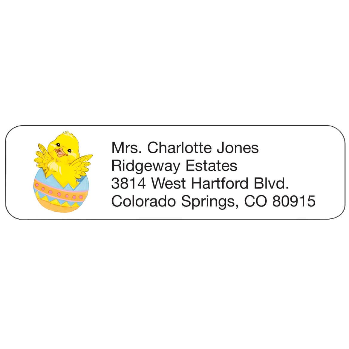 Personal Design Label Chick in Egg-358973