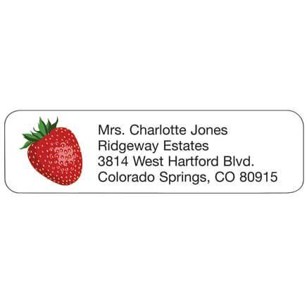 Personal Design Label  Strawberry-358986