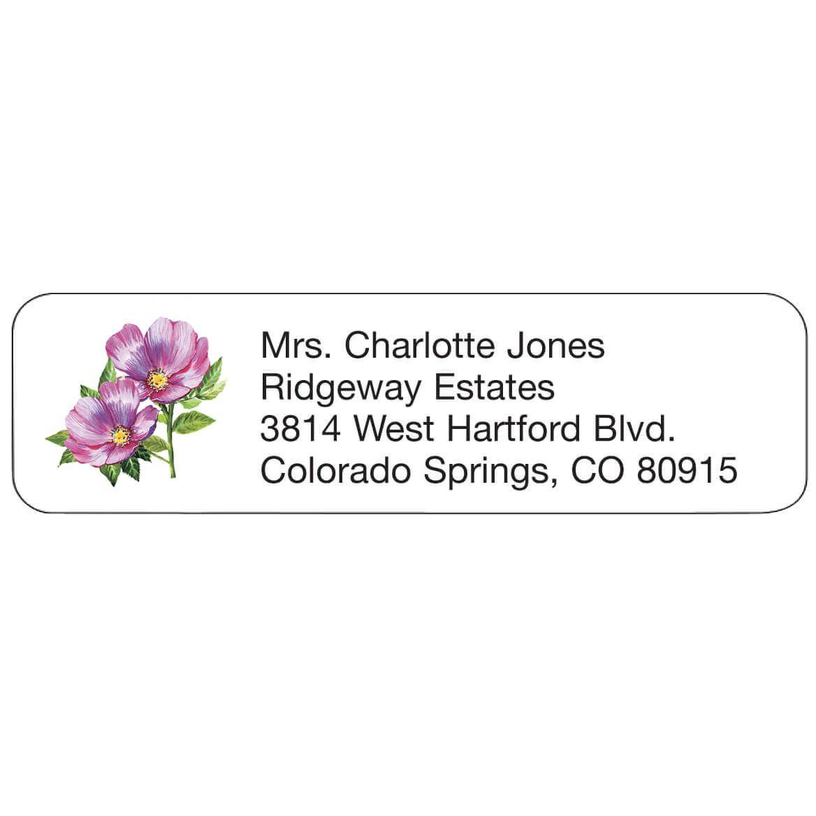 Personal Design Label Violets-358987