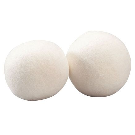Sheep's Wool Dryer Balls, Set of 2-359244
