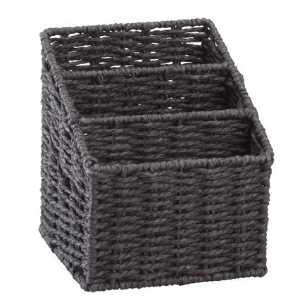 Wicker Letter Sorting Basket-359265