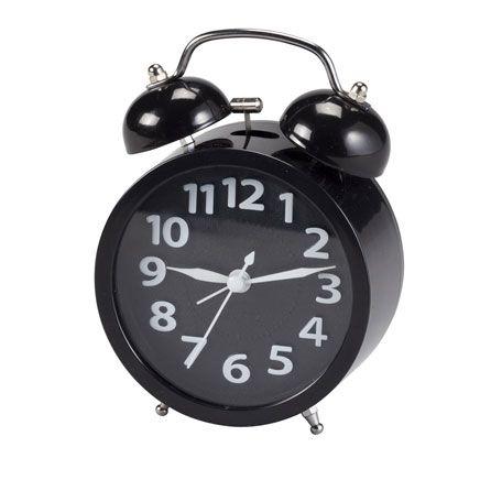 Retro Style Twin Bell Alarm Clock-359288