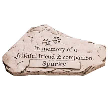 Personalized Faithful Friend and Companion Memorial Stone-359781