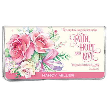 Personalized 2 Yr Planner Faith, Hope, Love-360115
