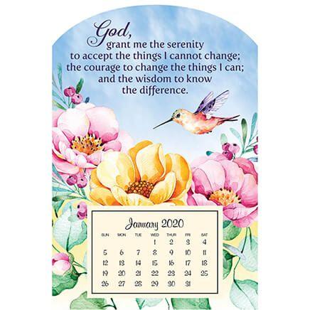 Mini Magnetic Calendar Serenity Prayer-360120