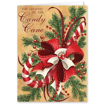 Personalized Legend of Candy Cane Scented Christmas Card-360215