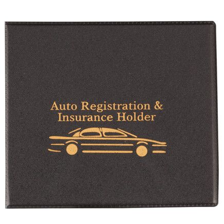 Auto Registration & Insurance Holder-360316