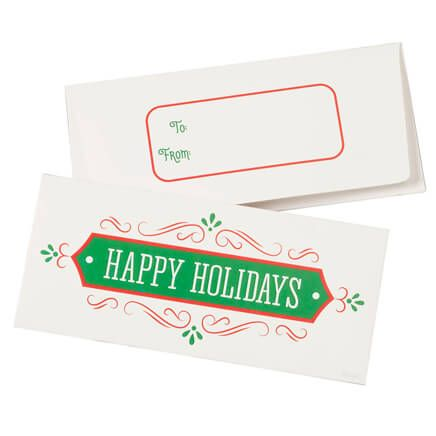 Christmas Money Card Holder Set of 12-360401